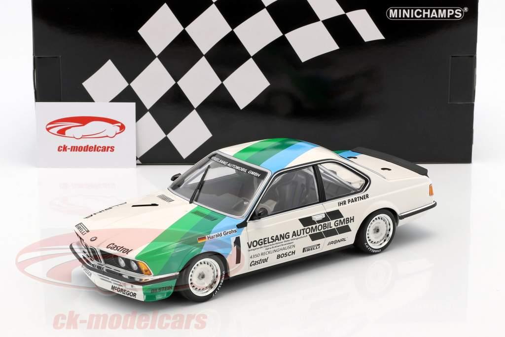 BMW 635 CSi #1 ganador Bergischer Löwe Zolder 1984 Harald Grohs 1:18 Minichamps