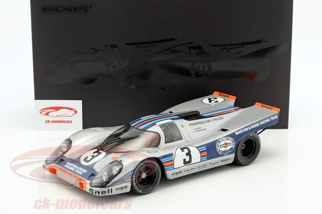 Porsche 917K #3 ganador 12h Sebring 1971 Elford, Larrousse 1:12 Minichamps