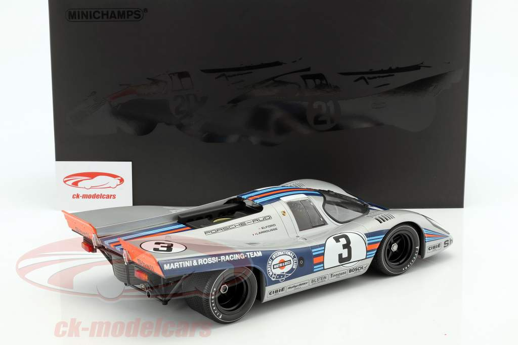 Porsche 917K #3 gagnant 12h Sebring 1971 Elford, Larrousse 1:12 Minichamps