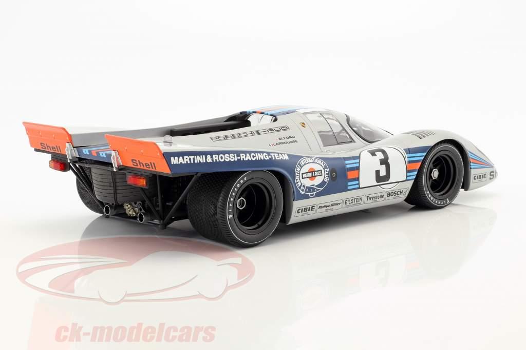 Porsche 917K #3 vencedor 12h Sebring 1971 Elford, Larrousse 1:12 Minichamps