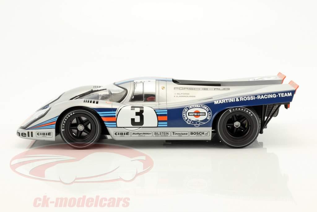 Porsche 917K #3 winnaar 12h Sebring 1971 Elford, Larrousse 1:12 Minichamps
