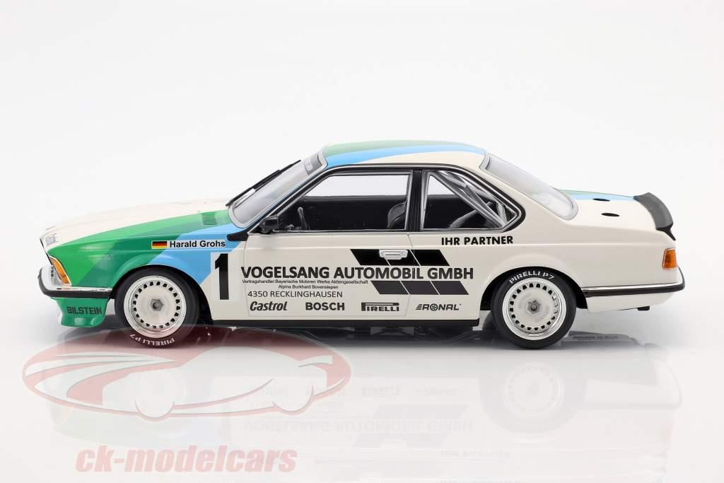 BMW 635 CSi #1 winnaar Bergischer Löwe Zolder 1984 Harald Grohs 1:18 Minichamps