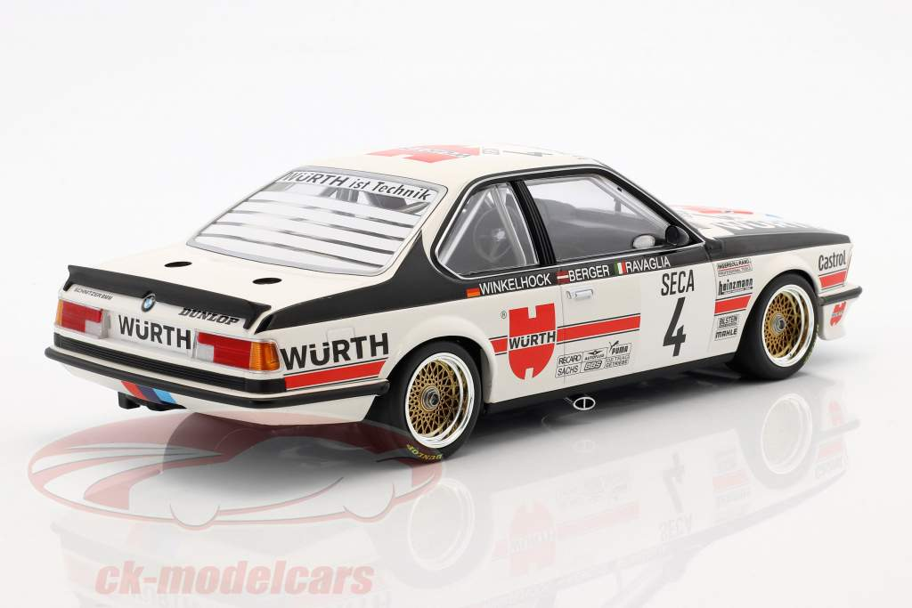 BMW 635 CSi #4 24h Spa 1984 Ravaglia, Berger, Winkelhock 1:18 Minichamps