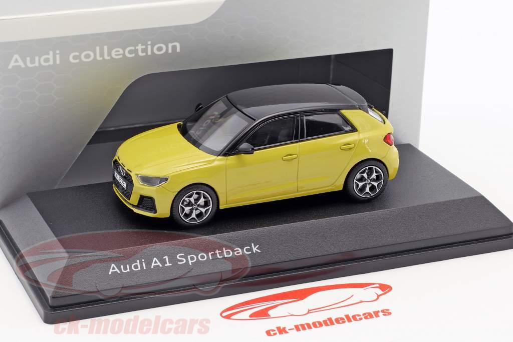 Audi A1 Sportback Phyton gul 1:43 iScale