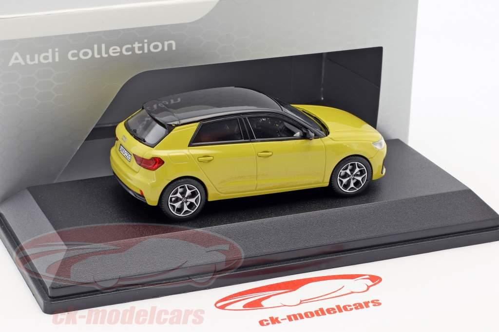 Audi A1 Sportback Phyton jaune 1:43 iScale
