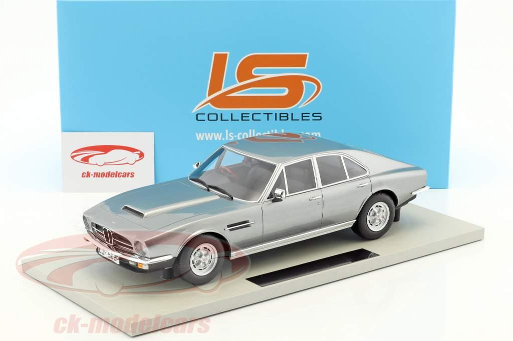 Aston Martin Lagonda année de construction 1974 argent 1:18 LS Collectibles