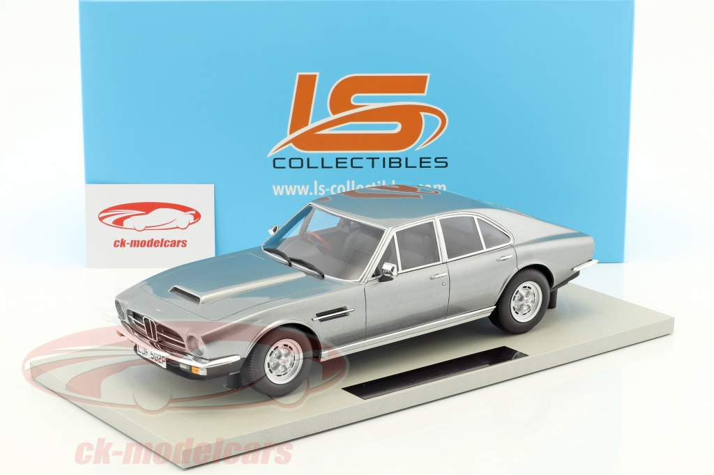 Aston Martin Lagonda Baujahr 1974 silber 1:18 LS Collectibles