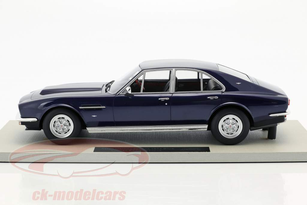 Aston Martin Lagonda year 1974 dark blue 1:18 LS Collectibles