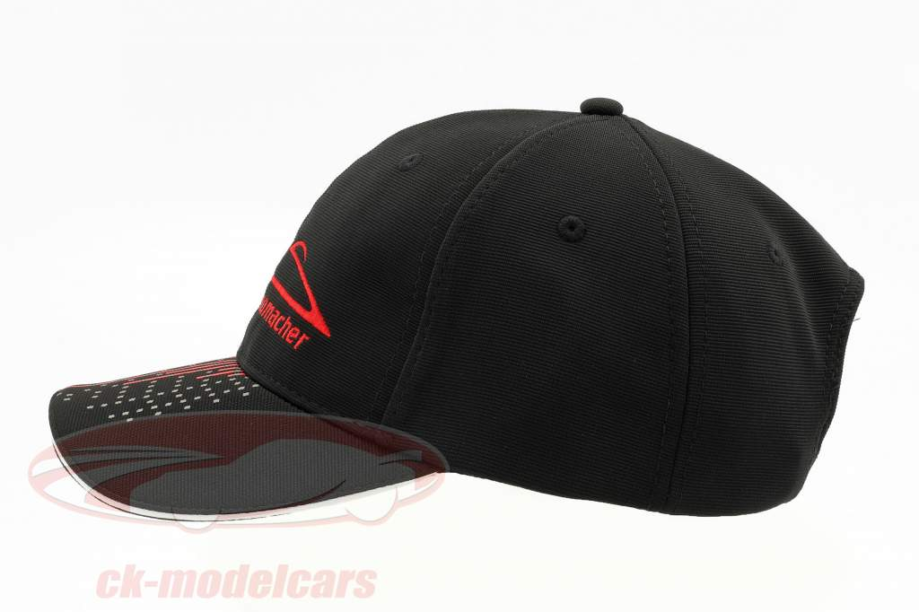 Michael Schumacher chapeau Speedline noir