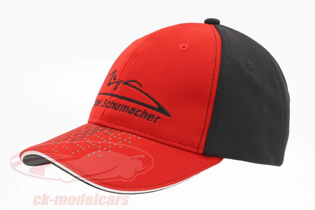 Michael Schumacher chapeau Speedline rouge / noir