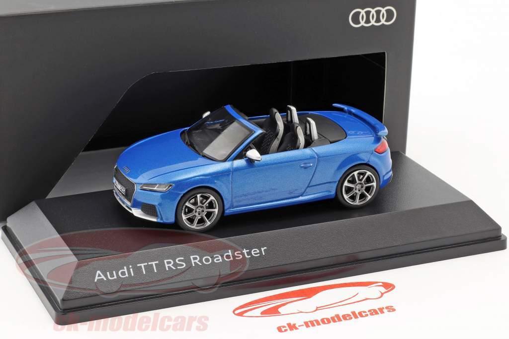 Audi TT RS Roadster ara blauw 1:43 iScale