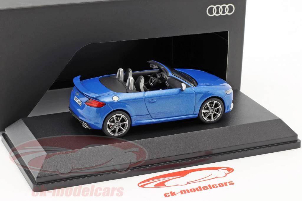 Audi TT RS Roadster ara blu 1:43 iScale