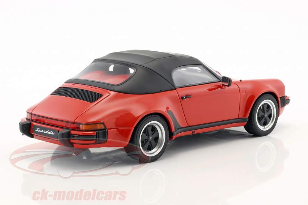 GT Spirit GT130 1989 Porsche 911 3.2 Speedster Red 1:18 Scale