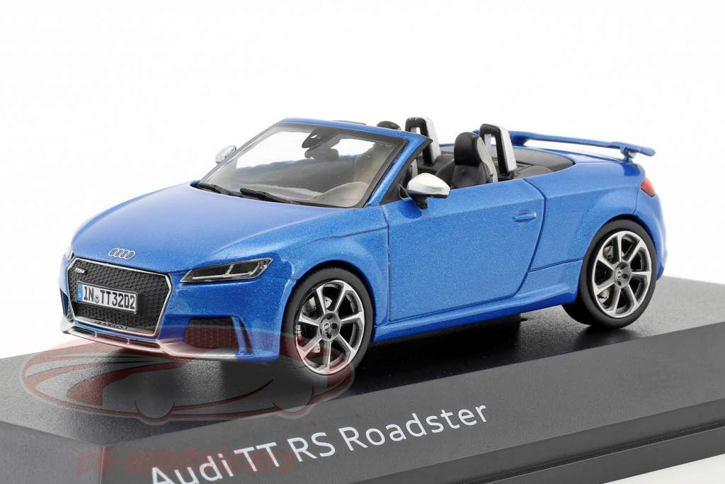 Audi TT RS Roadster ara blå 1:43 iScale