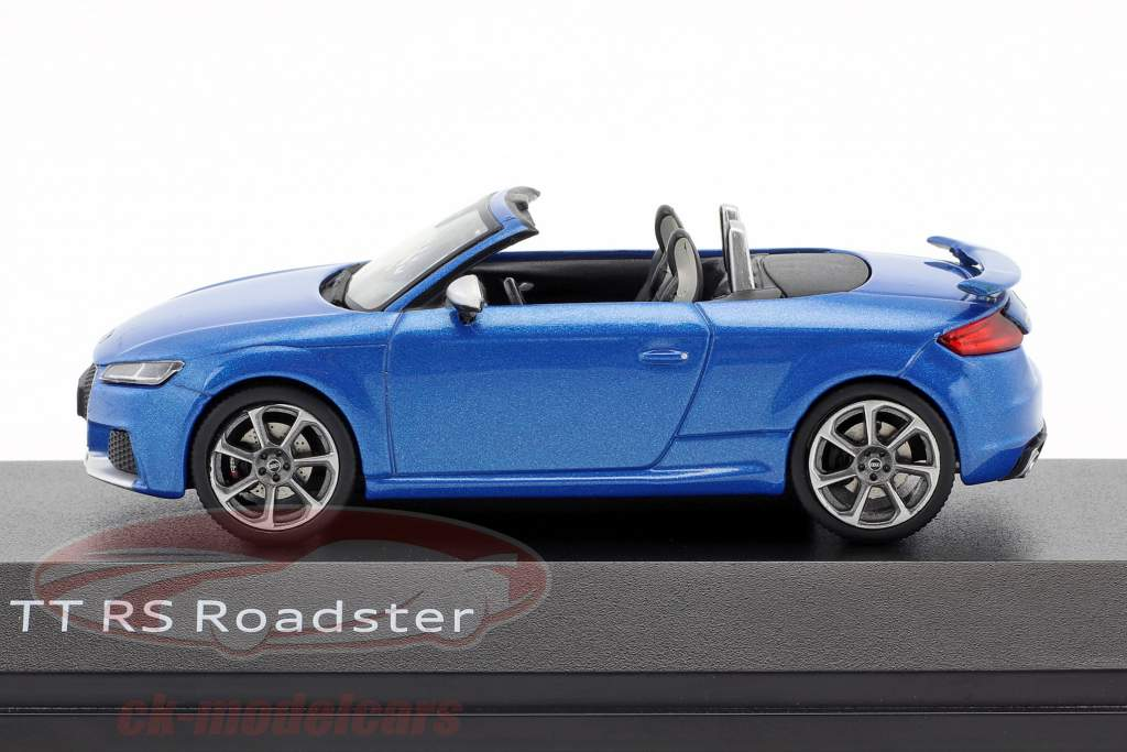 Audi TT RS Roadster ara azul 1:43 iScale