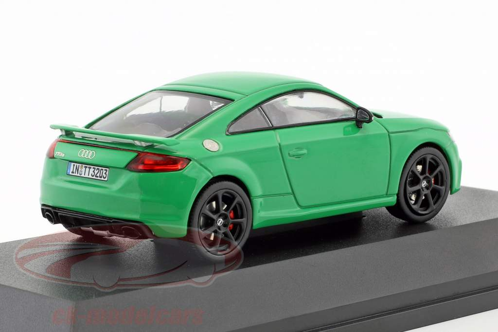 Audi TT RS Coupe green 1:43 iScale