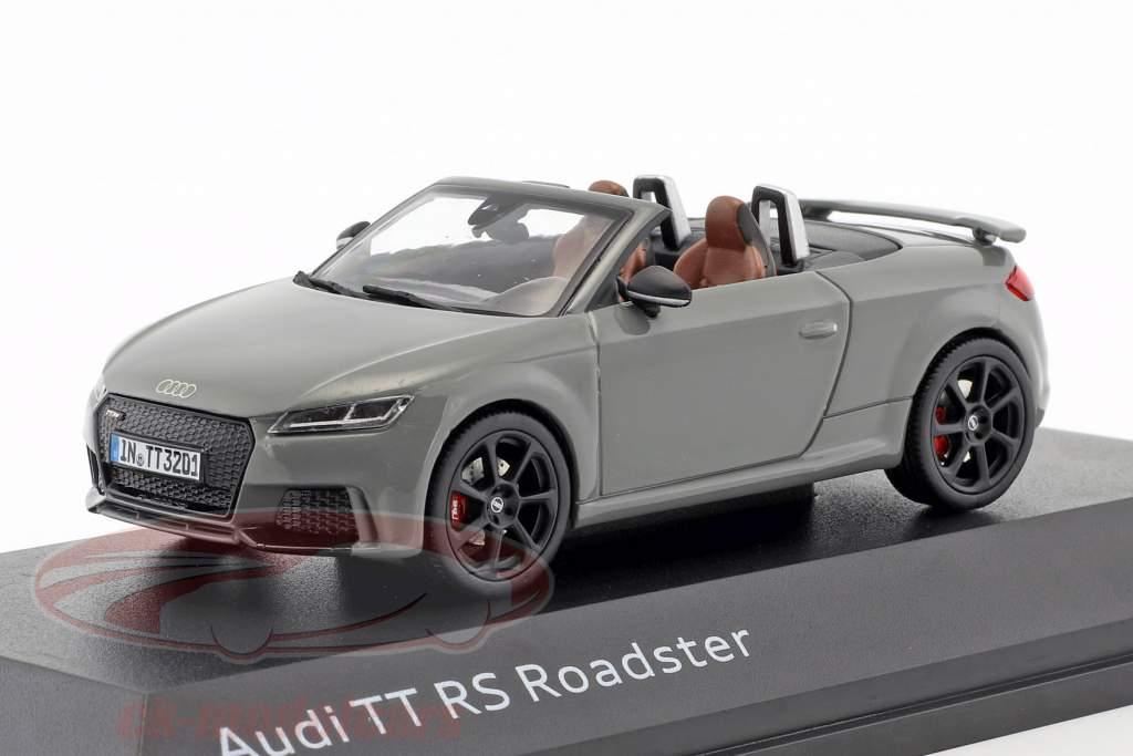 Audi TT RS Roadster nardo cinza 1:43 iScale