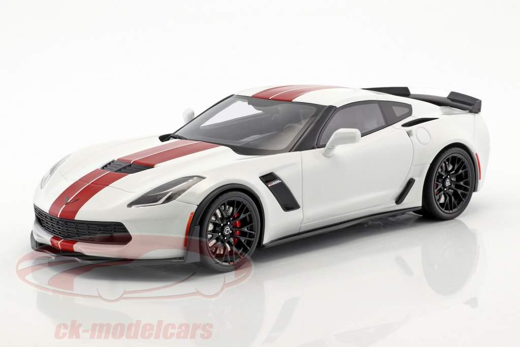 2017 White Corvette >> Chevrolet Corvette C7 Z06 Year 2017 White Red 1 18 Gt Spirit