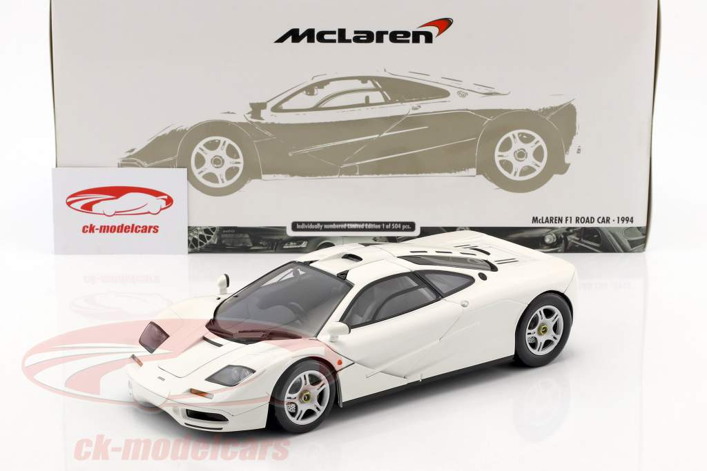 minichamps 1:18 mclaren f1 road car year 1993/94 white 530133424