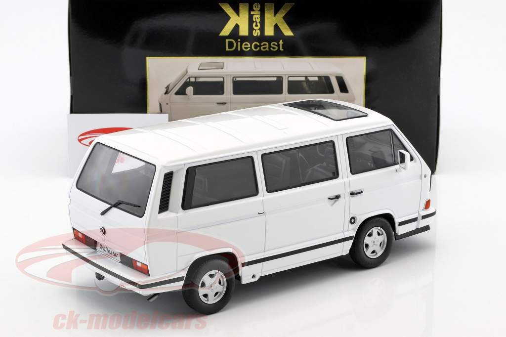 Volkswagen VW bus T3 White Star année de construction 1993 blanc 1:18 KK-Scale