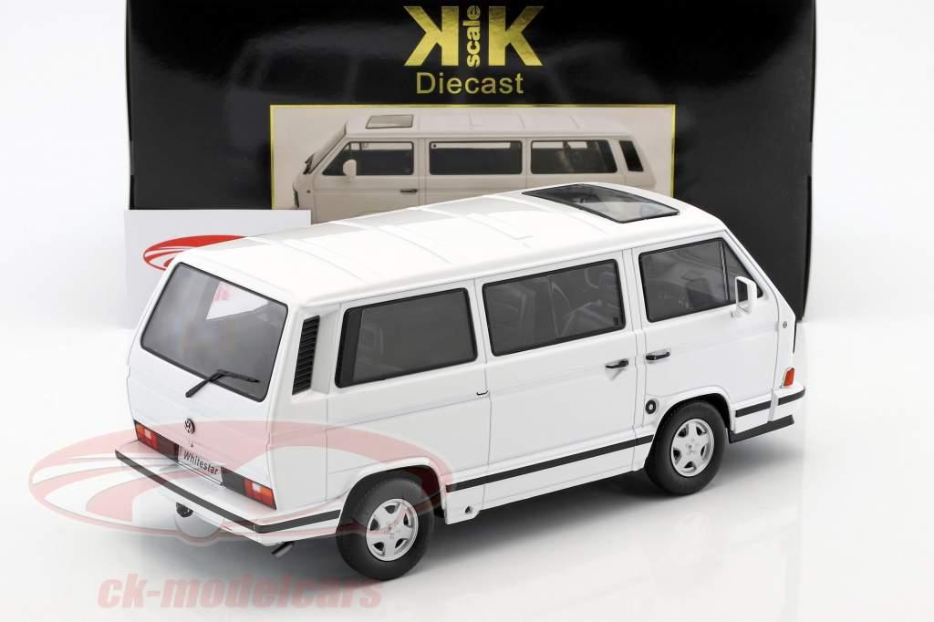 Volkswagen VW Bus T3 White Star Baujahr 1993 weiß 1:18 KK-Scale