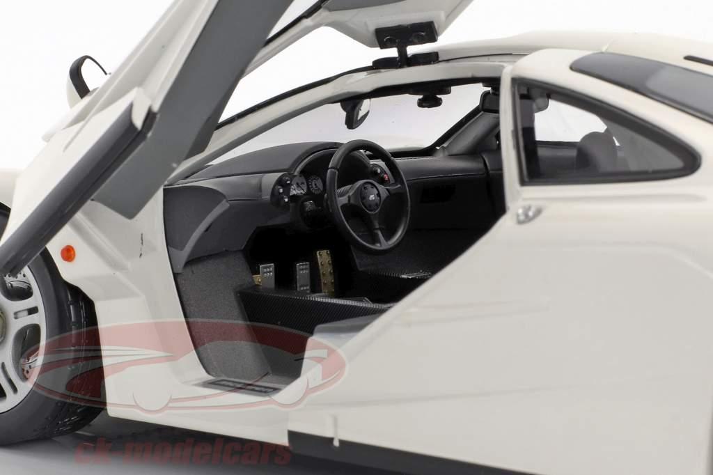 McLaren F1 Road Car année de construction 1993/94 blanc 1:18 Minichamps
