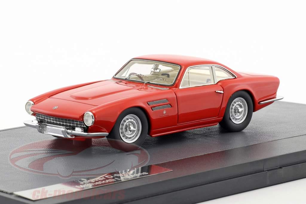 Jaguar D-Type LeMans Michelotti anno di costruzione 1963 rosso 1:43 Matrix