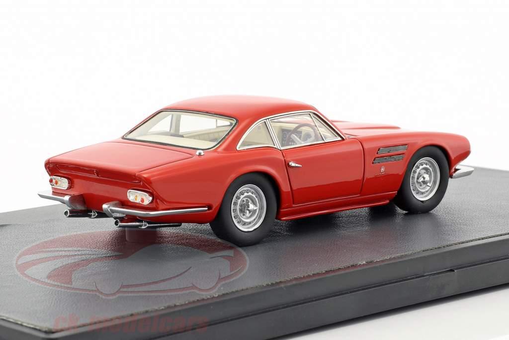 Jaguar D-Type LeMans Michelotti année de construction 1963 rouge 1:43 Matrix