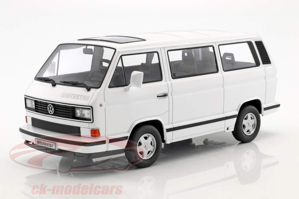 Volkswagen VW bus T3 White Star Construction year 1993 White 1:18 KK-Scale