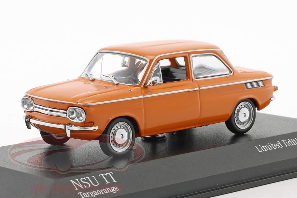 NSU TT Opførselsår 1968 appelsin 1:43 Minichamps