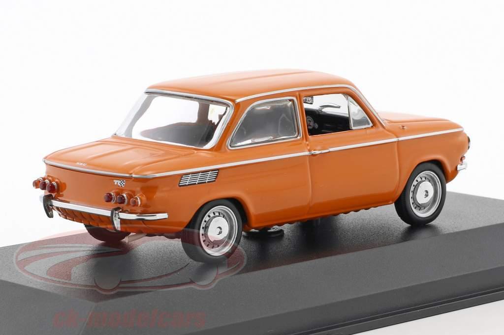 NSU TT año de construcción 1968 naranja 1:43 Minichamps