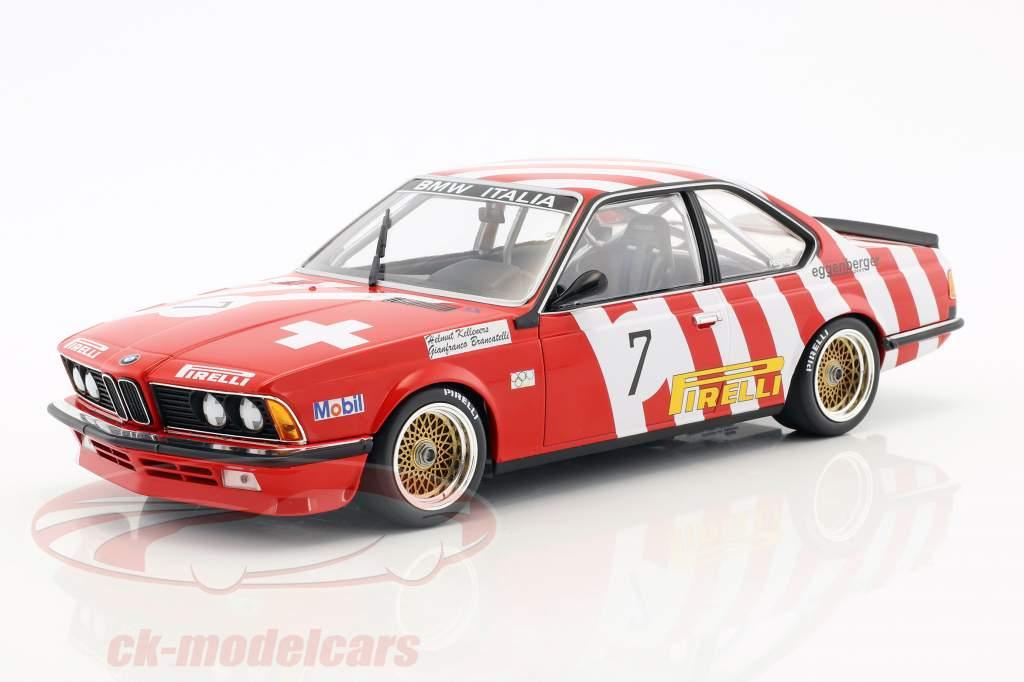 BMW 635 CSi #7 5th Grand Prix BRNO 1984 Brancatelli, Kelleners 1:18 Minichamps