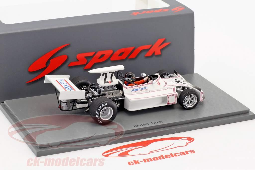 James Hunt March 731 #27 Monaco GP formule 1 1973 1:43 Spark