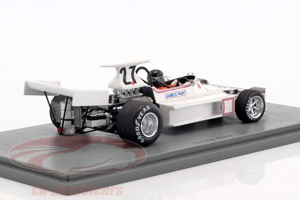 James Hunt March 731 #27 Monaco GP Formel 1 1973 1:43 Spark