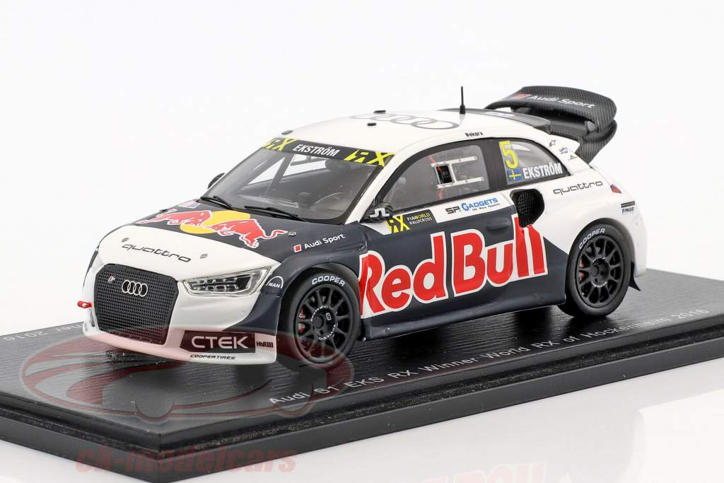 Mattias Ekström Audi S1 #5 vincitore mondo RX di Hockenheim 2016 1:43 Spark