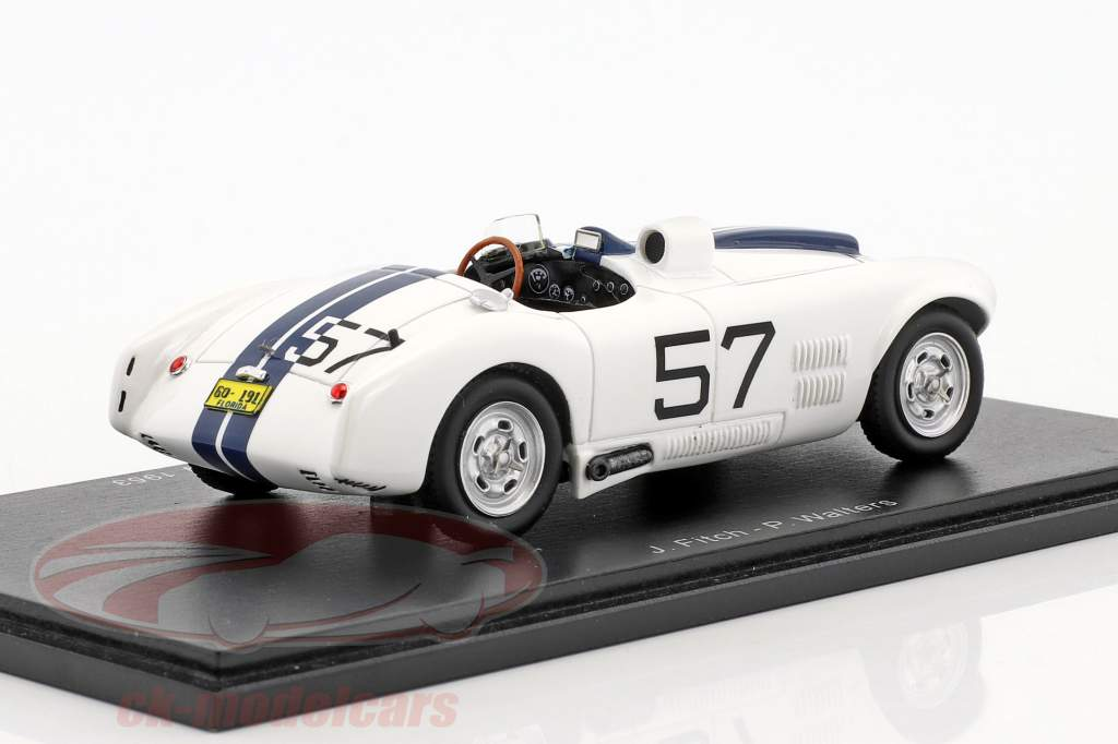 Cunningham C4-R #57 vincitore 12h Sebring 1953 Walters, Fitch 1:43 Spark