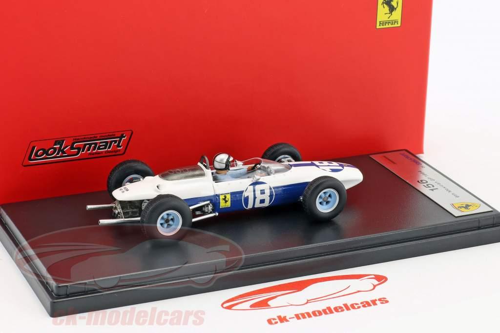 Pedro Rodriguez Ferrari 156 #18 Mexiko GP Formel 1 1964 1:43 LookSmart