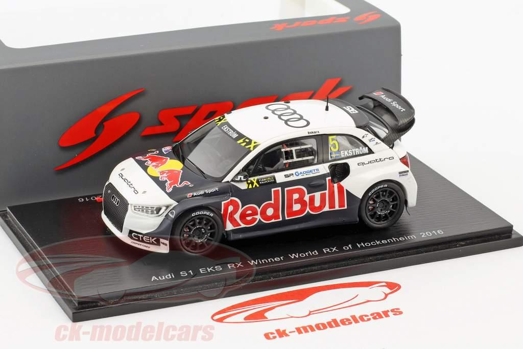 Mattias Ekström Audi S1 #5 gagnant monde RX de Hockenheim 2016 1:43 Spark
