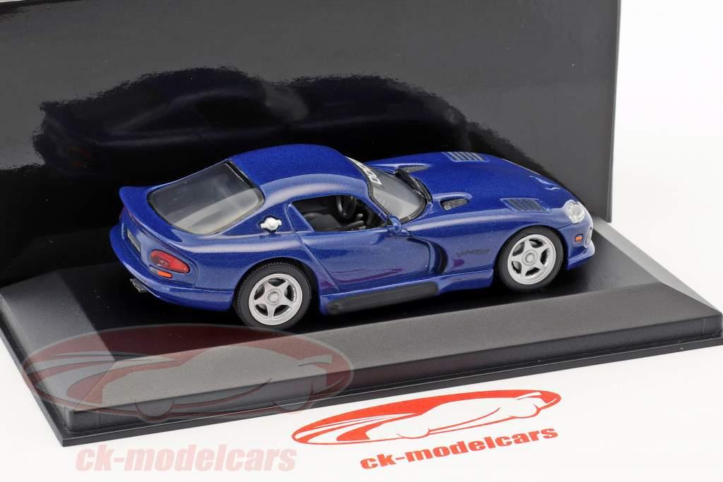 Dodge Viper Coupe bleu foncé métallique 1:43 Minichamps
