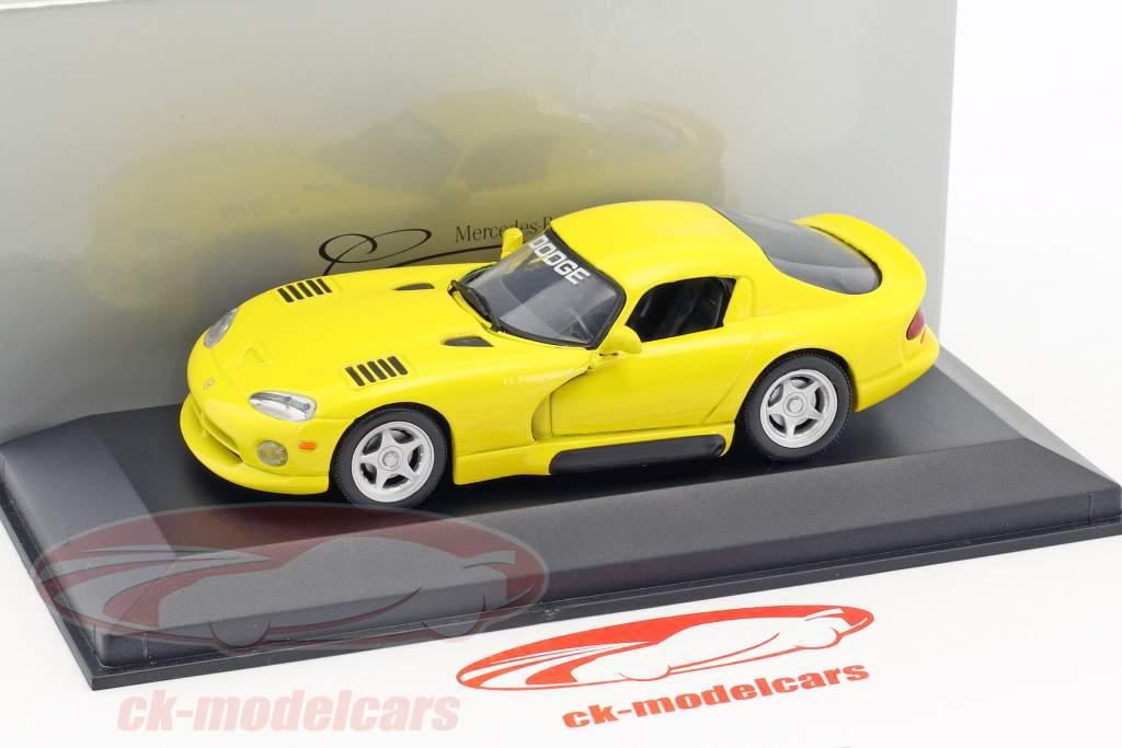 Dodge Viper Coupe giallo 1:43 Minichamps