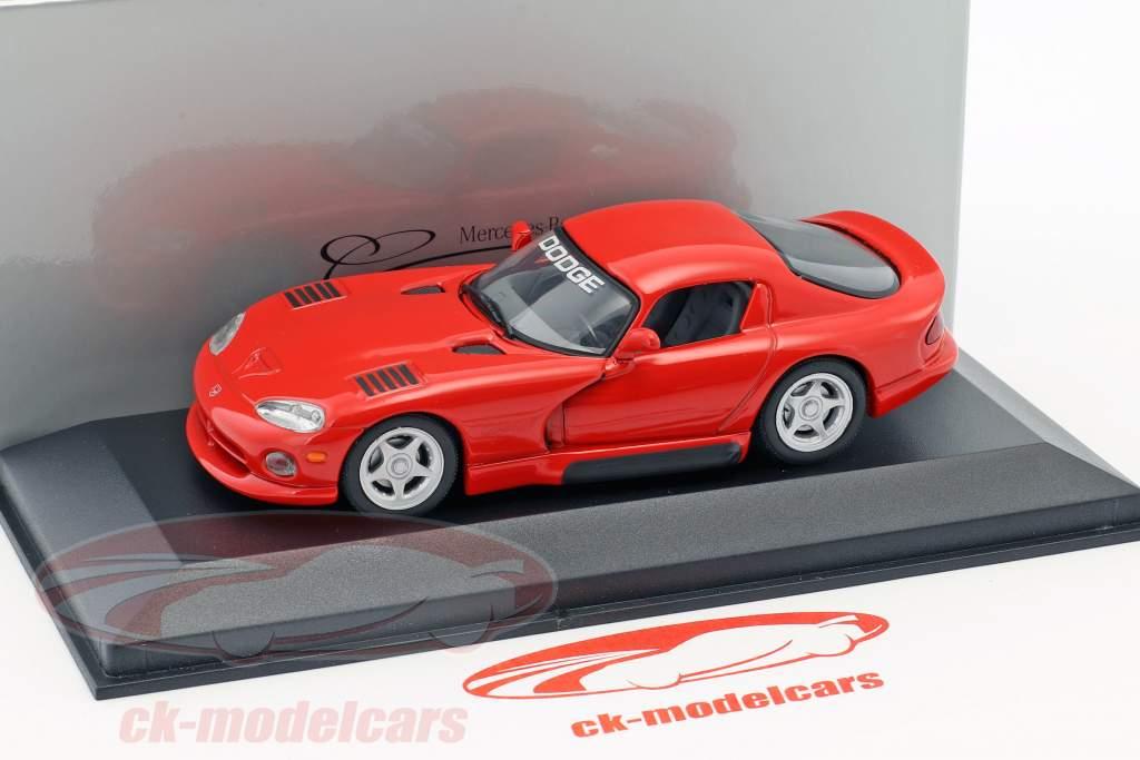 Dodge Viper Coupe rot 1:43 Minichamps