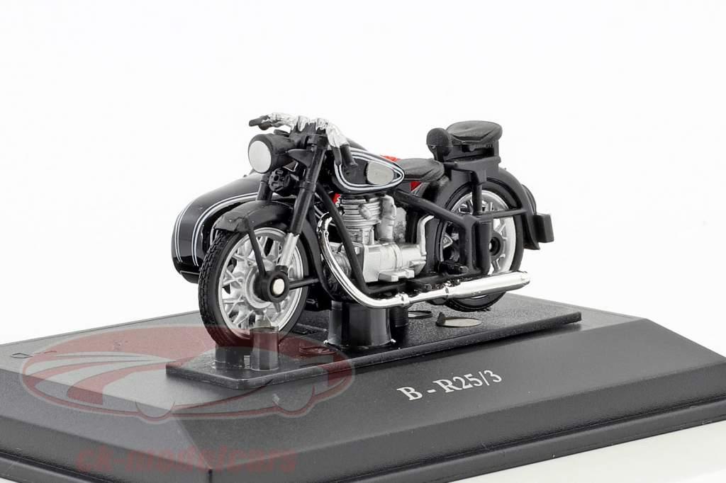 BMW B-R25/3 zwart / zilver 1:43 Cararama