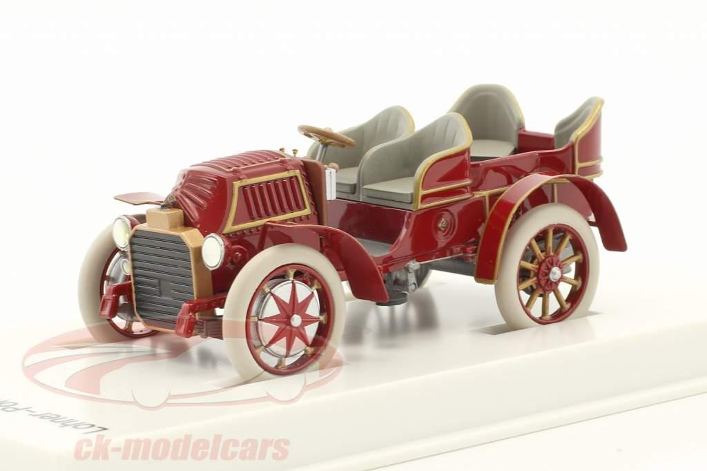 Lohner - Porsche Mixte Car year 1901 red-brown 1:43 Porsche Museum