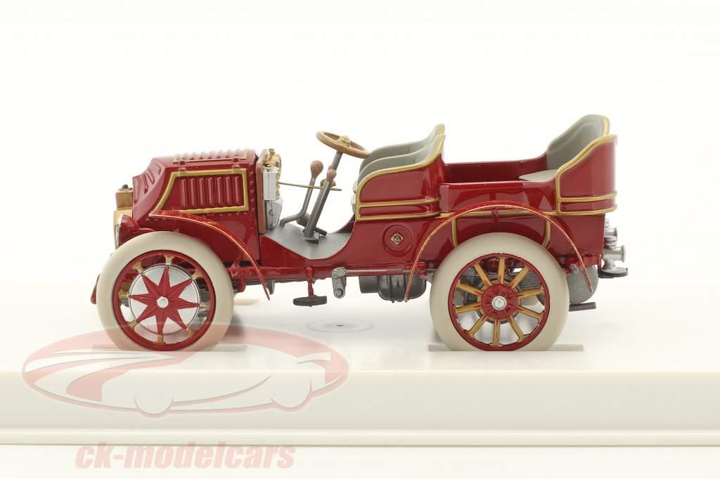 Lohner - Porsche Mixte auto anno di costruzione 1901 rosso-marrone 1:43 Porsche Museum