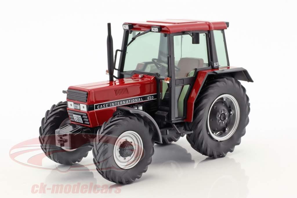 Case International 633 trattore con cabina rosso 1:32 Schuco