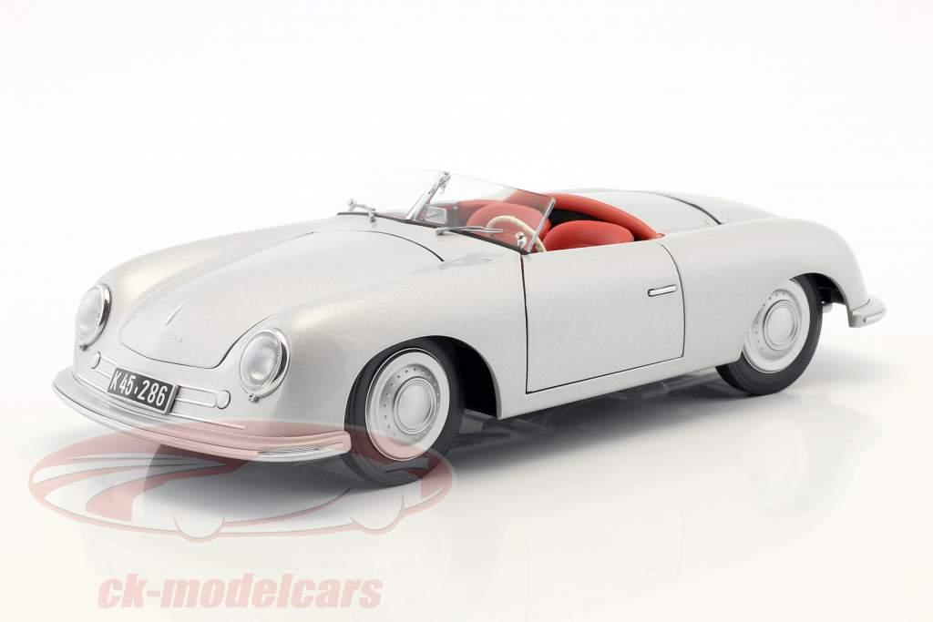 Porsche 356 Nr.1 année de construction 1948 édition 70 ans Porsche argent 1:18 AUTOart