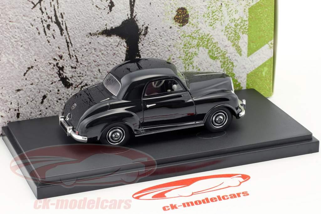 Mercedes-Benz 1,2L Prototyp Baujahr 1948 schwarz 1:43 AutoCult