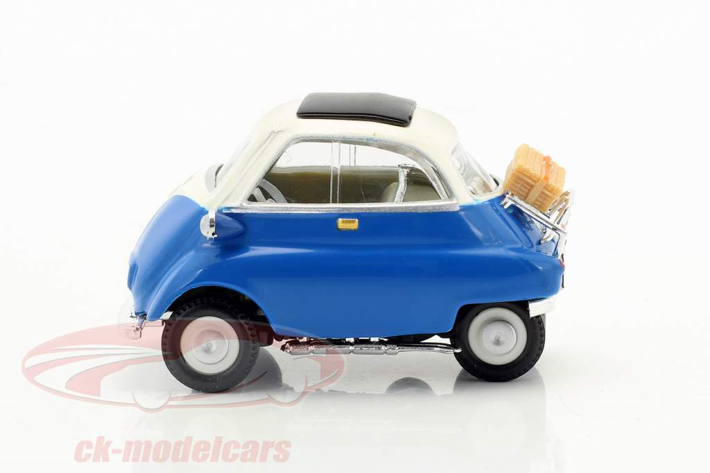 BMW Isetta 250 donkerblauw 1:43 Cararama
