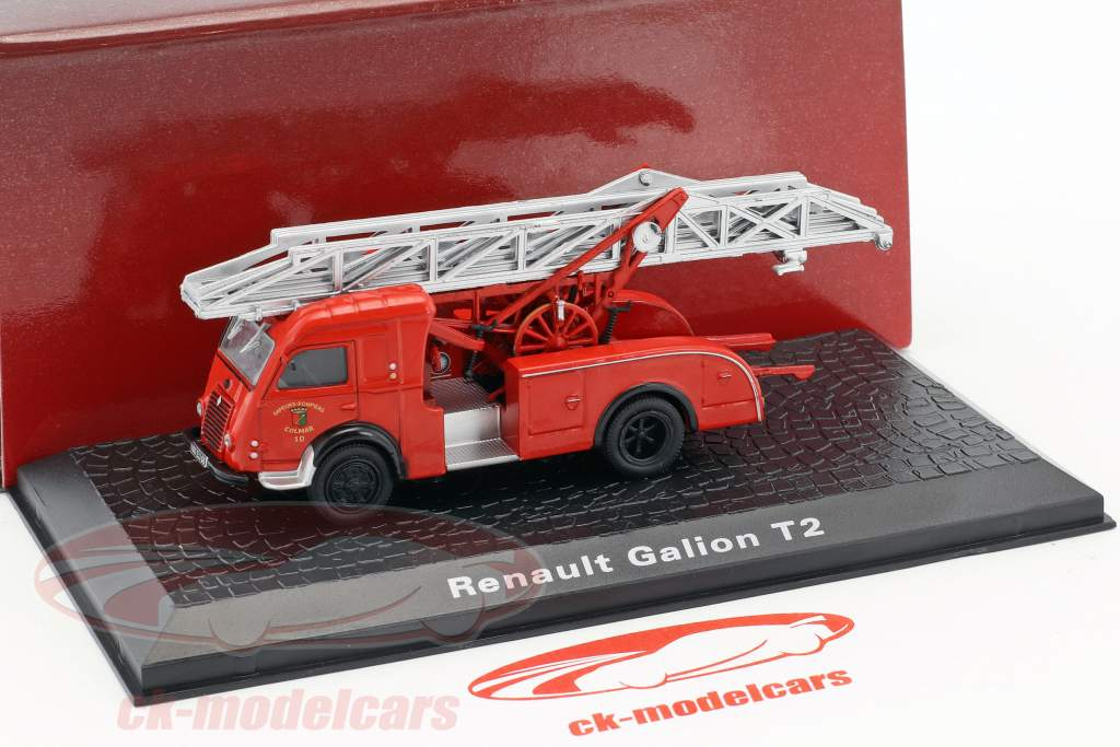 Renault Galion T2 fire Department Colmar red 1:72 Atlas