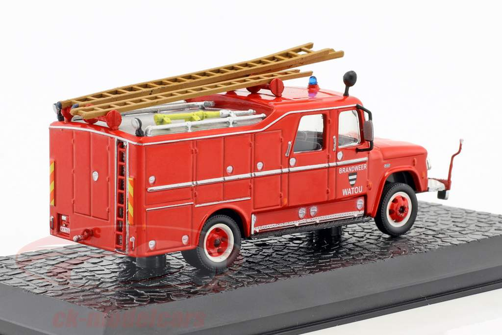 Dodge D-500 fire Department Watou (Belgium) year 1958 red 1:72 Atlas